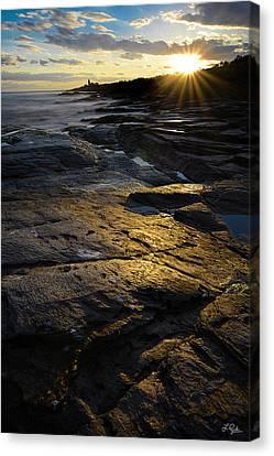 Sunset Beyond Canvas Print by Lourry Legarde