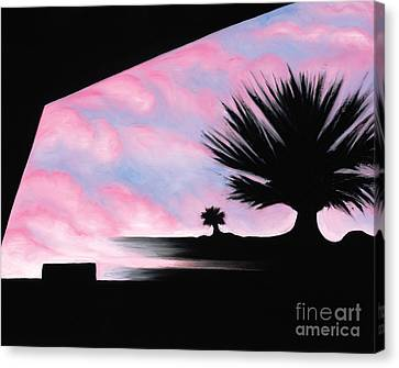 Sunset Boulevard Dreams Canvas Print