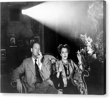 Sunset Boulevard, From Left, William Canvas Print by Everett
