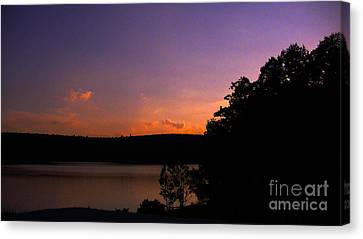 Sunset Canvas Print by Brittany Perez