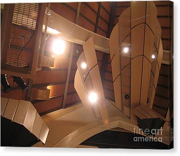 Sunset Center Ceiling Canvas Print by James B Toy