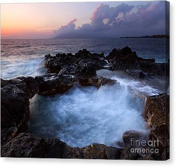 Sunset Churn Canvas Print