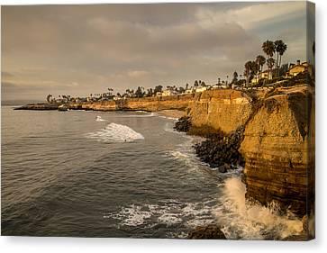 Sunset Cliffs 4 Canvas Print by Lee Kirchhevel