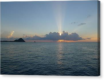 Sunset Cruise - St. Lucia 2 Canvas Print