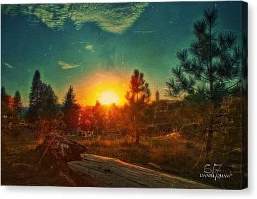 Sunset Canvas Print by Dan Quam