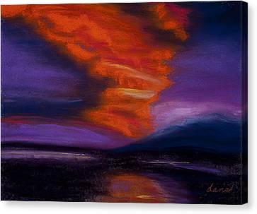 Sunset Canvas Print by Dana Strotheide