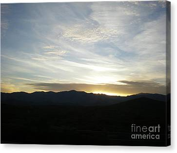 Sunset Canvas Print by Debbie Wells