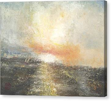 Sunset Drama Canvas Print