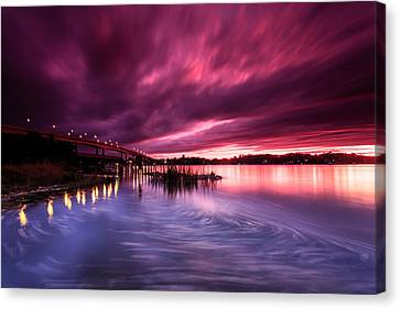 Sunset Drift Canvas Print