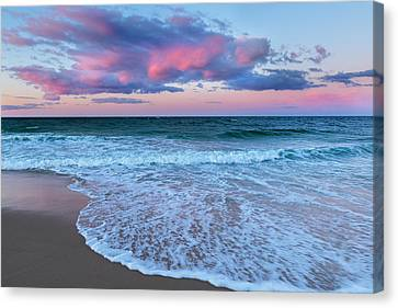 Cape Cod Scenery Canvas Print - Sunset East by Bill Wakeley