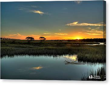 Sunset Canvas Print by Ed Roberts