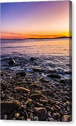 Sunset Photos Elgol Isle Of Skye Canvas Print