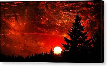 Sunset Fantasy I Canvas Print