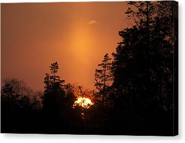 Sunset Flare Canvas Print