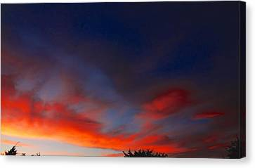 Sunset Canvas Print by Frederick R