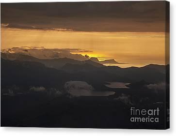 Sunset Canvas Print by Gunnar Orn Arnason