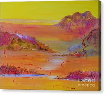 Sunset Hills Canvas Print by Lyn Olsen