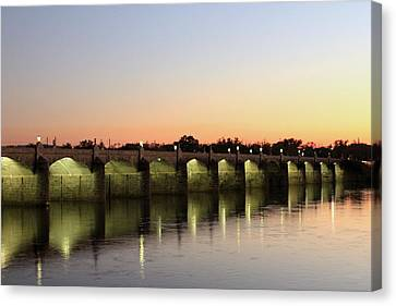 Sunset Hues Canvas Print