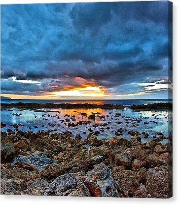 #sunset #ignation #igtube #instalike Canvas Print by Brian Governale