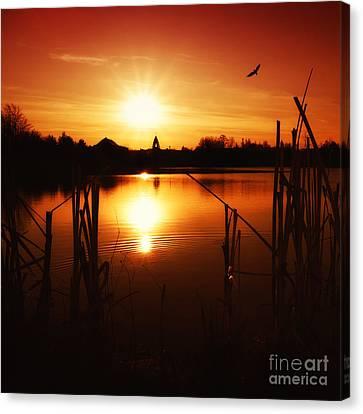 Sunset II Canvas Print by Martin Dzurjanik