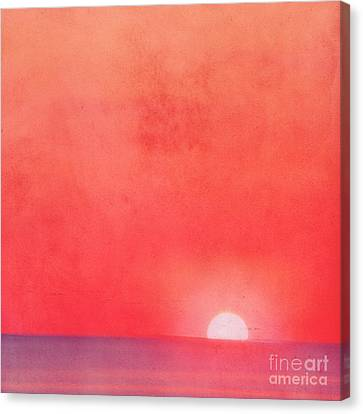 Sunset Impression Canvas Print