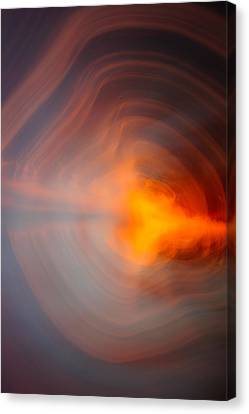 Sunset In Abstract No.1 Canvas Print