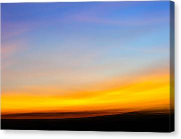 D700 Canvas Print - Sunset In Abstract No.2 by Chris Modlin