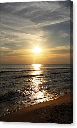 Sunset In Panama City Canvas Print by Vicki Kennedy