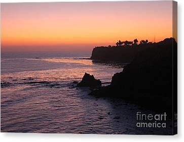 Sunset In Paradise Canvas Print by Bev Conover