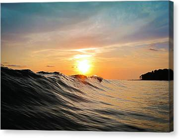 Sunset In Paradise Canvas Print by Nicklas Gustafsson