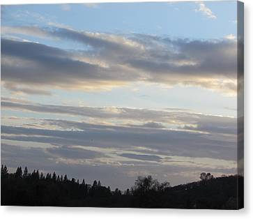 Canvas Print - Sunset In The Foothills by Debra Madonna