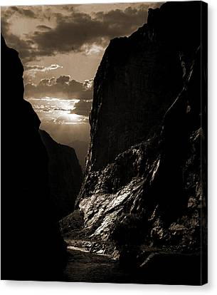 Arkansas Canvas Print - Sunset In The Royal Gorge, Col, Jackson, William Henry by Litz Collection