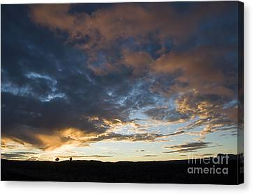 Sunset In Utah Canvas Print by Delphimages Photo Creations