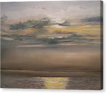 Sunset - Indian Rocks Beach Canvas Print