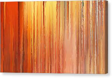 Sunset Infinity Canvas Print by Lourry Legarde
