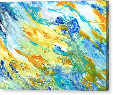 Sunset Inspired Canvas Print by Rosie Brown