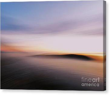 Sunset Island Dreaming Canvas Print by Andy Prendy