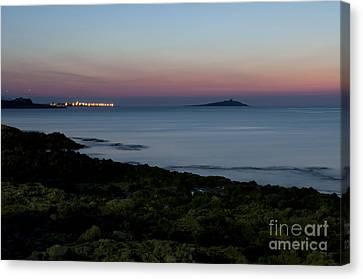 Sunset Island Canvas Print