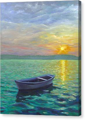 Sunset Canvas Print by Joe Maracic