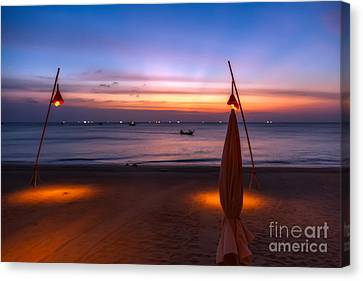 Sunset Lanta Island  Canvas Print by Adrian Evans