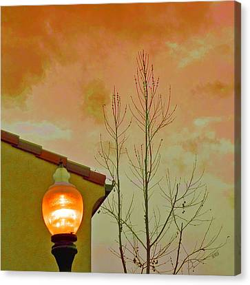 Sunset Lantern Canvas Print by Ben and Raisa Gertsberg