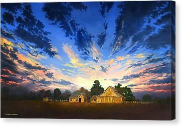 Sunset Memories Canvas Print by Douglas Castleman