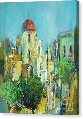 Canvas Print - Sunset Neighborhood by Grigor Malinov