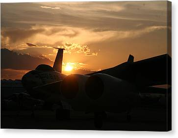Sunset On The Cold War Canvas Print
