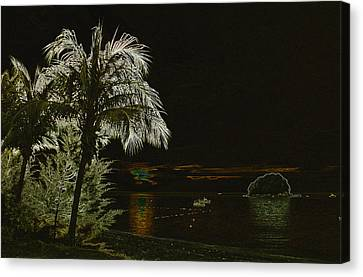 Sunset On Tioman Island Canvas Print by Sergey Lukashin
