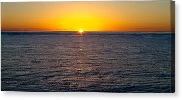 Sunset Over Baja Canvas Print