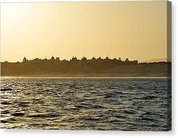Canvas Print featuring the photograph Sunset Over Cabo by Christine Till