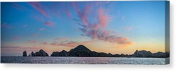 Sunset Over Cabo Canvas Print by Sebastian Musial