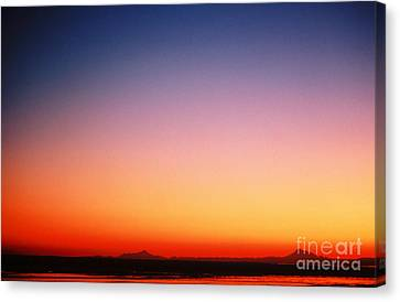 Sunset Over Cook Inlet Canvas Print