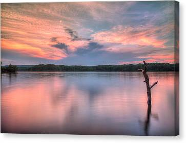 Sunset Over Cootes Canvas Print by Craig Brown